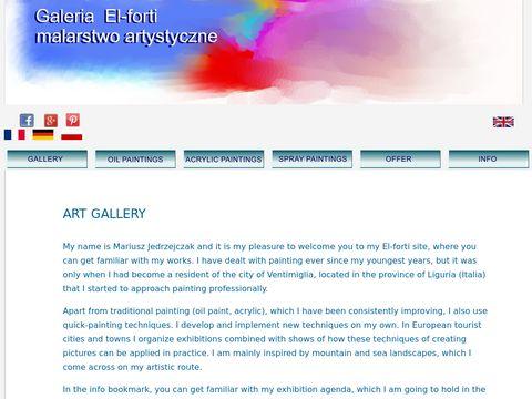 El-forti.pl galeria malarstwa artystycznego