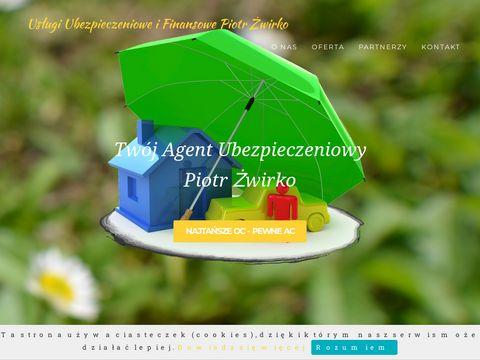 Zwirko-ubezpieczenia.pl usługi finansowe Białystok