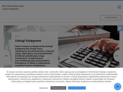 Zysk-gorzow.pl księgowa