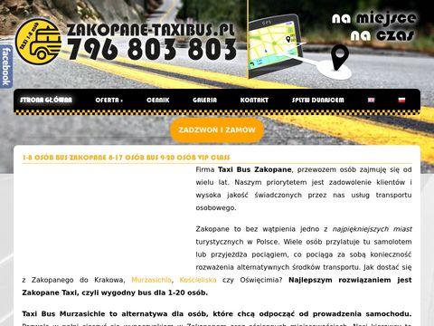 Zakopane-taxibus.pl transport