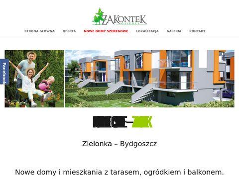 Zakontek.kontbud.com nowe osiedle okolice Bydgoszczy