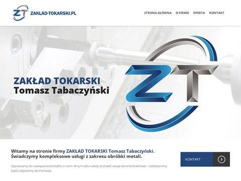 Zaklad-tokarski.pl Tomasz Tabaczyński