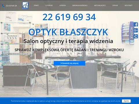 W. A. Błaszczyk optometrysta Warszawa