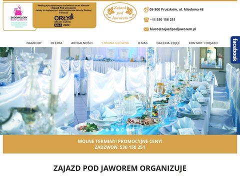 Zajazdpodjaworem.pl dom weselny Pruszków