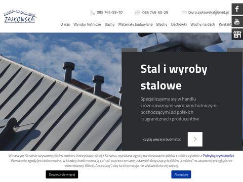 Firma handlowa Zajkowska Białystok kątowniki
