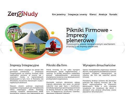 ZeroNudy.com - Imprezy firmowe Poznań