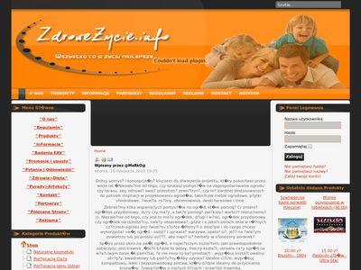 Zdrowe-zycie.vot.pl suplementy diety i witaminy