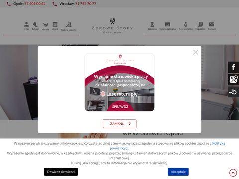 Zdrowe-stopy.com grzybica stóp