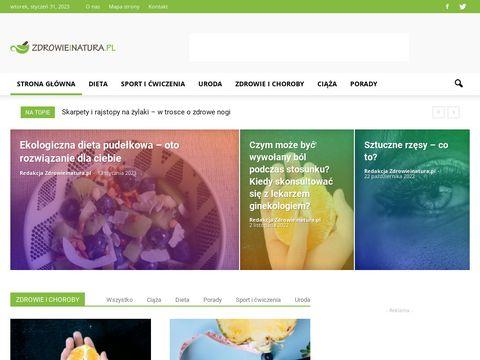 Zdrowieinatura.pl - blog o zdrowiu