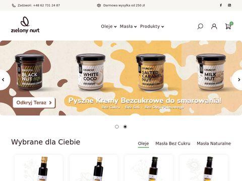 Zielonynurt.pl olej lniany