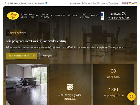 Zlotysek.com.pl dębowa deska