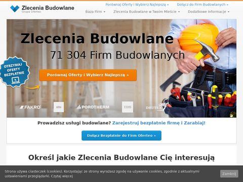 Zlecenia Budowlane - zleceniabudowlane24h.pl