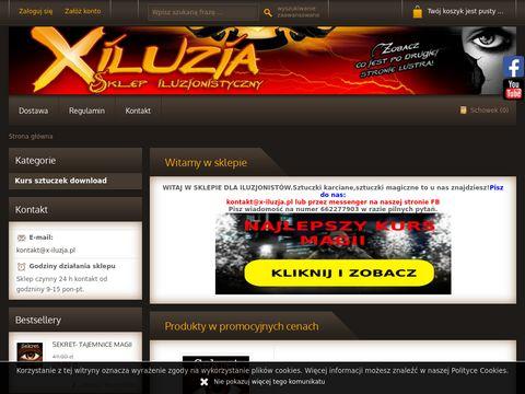 X-iluzja.pl sklep iluzjonistyczny