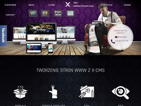 Xcms.pl strony internetowe