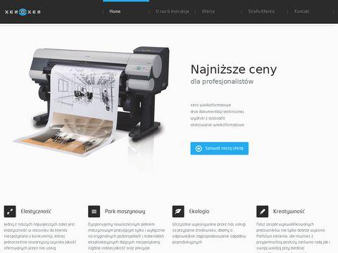 Xeroxer.pl kopiowanie wielkoformatowe Lublin