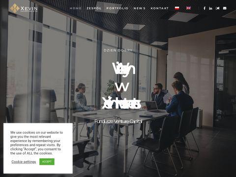 Xevin - pozyskiwanie kapitału, wsparcie finansowe