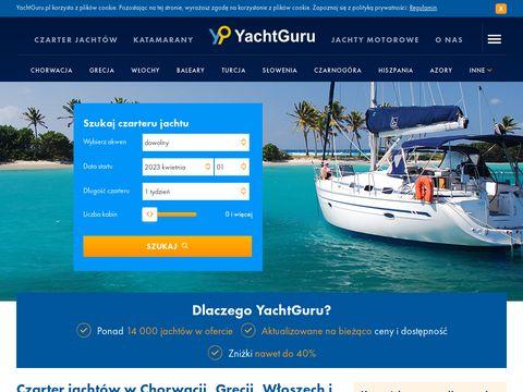 Yachtguru.pl Jachty w Chorwacji