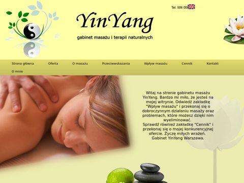 Yinyang.com.pl - gabinet masażu