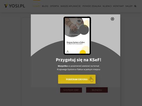 Yosi.pl oprogramowanie dla firm