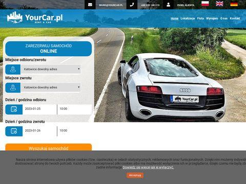 Yourcar.pl wypożyczalnia samochodów Katowice