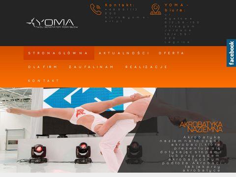 Agencja Medialna Yoma - Taniec z ogniem