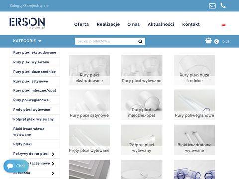 Rury-plexi.pl obróbka i sprzedaż rur pleksi