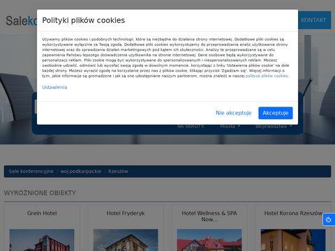 Rzeszow.salekonferencyjne.pl podkarpackie