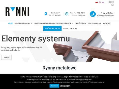 Rynni.pl rynny ciągłe