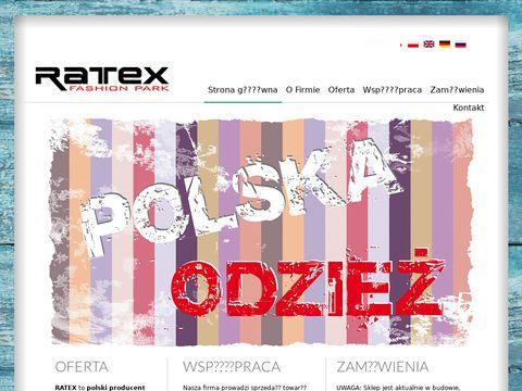 Ratex-jeans.pl polski producent odzieży dziecięcej