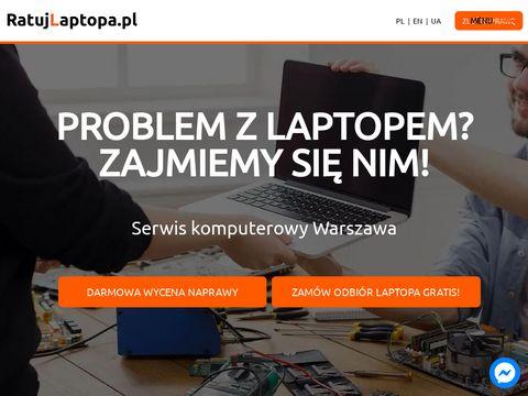 Ratujlaptopa.pl naprawa Warszawa