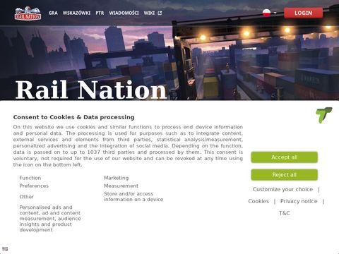 RailNation.pl przeglądarkowa gra