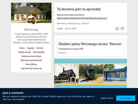 Ranczo.org forum dyskusyjne fanów serialu Ranczo