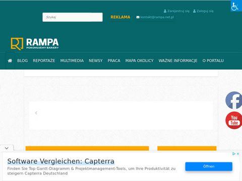Rampa.net.pl portal dla niepełnosprawnych