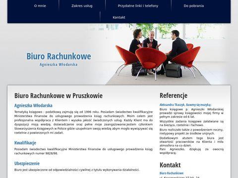 Agnieszka Włodarska biuro rachunkowe
