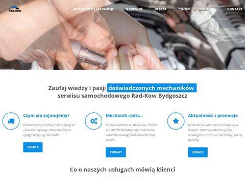 Mechanika i serwis samochodowy Rad-Kow.pl