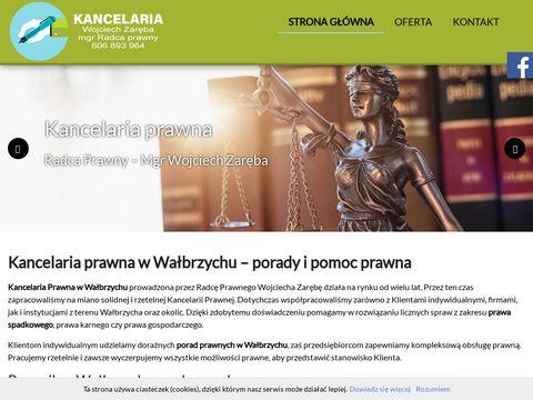 Radcaprawnywalbrzych.pl Zaręba Wojciech