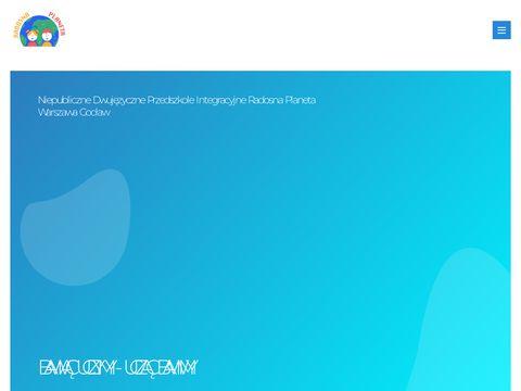 RadosnaPlaneta.com - przedszkole Warszawa