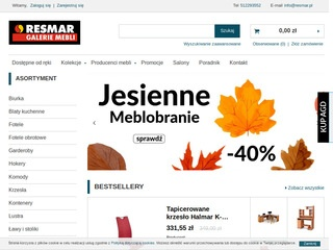 Resmar.pl sklep z meblami