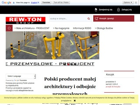 Rew Ton - stojaki na rowery