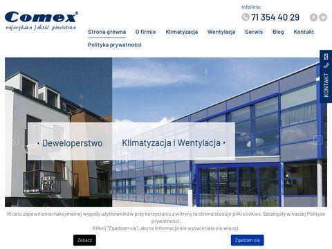 Comex instalacja wentylacji Wrocław