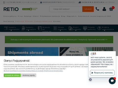 Retio.pl - systemy wystawiennicze