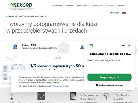 Rekord.com.pl oprogramowanie dla przedsiębiorstw