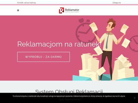 Reklamator - Platforma wsparcia jakości