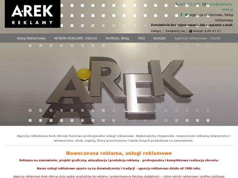 Reklamy-arek.pl napisy na samochód