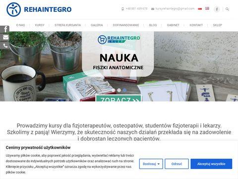 RehaIntegro - weź udział w kursie fizjoterapii