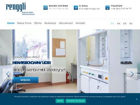 Renggli.pl szafki laboratoryjne