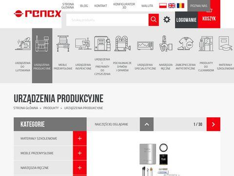 Renexline.pl auto-czyszczenie drukarek SMT