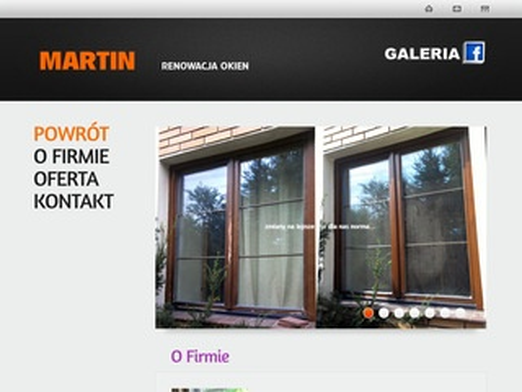 Renowacja okien - Martin