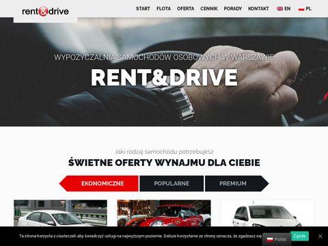 Rent&Drive - wypożyczalnia samochodów Warszawa