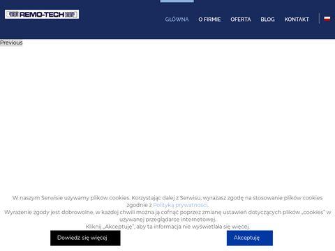 Remo-tech.pl remonty maszyn przemysłowych koronowo